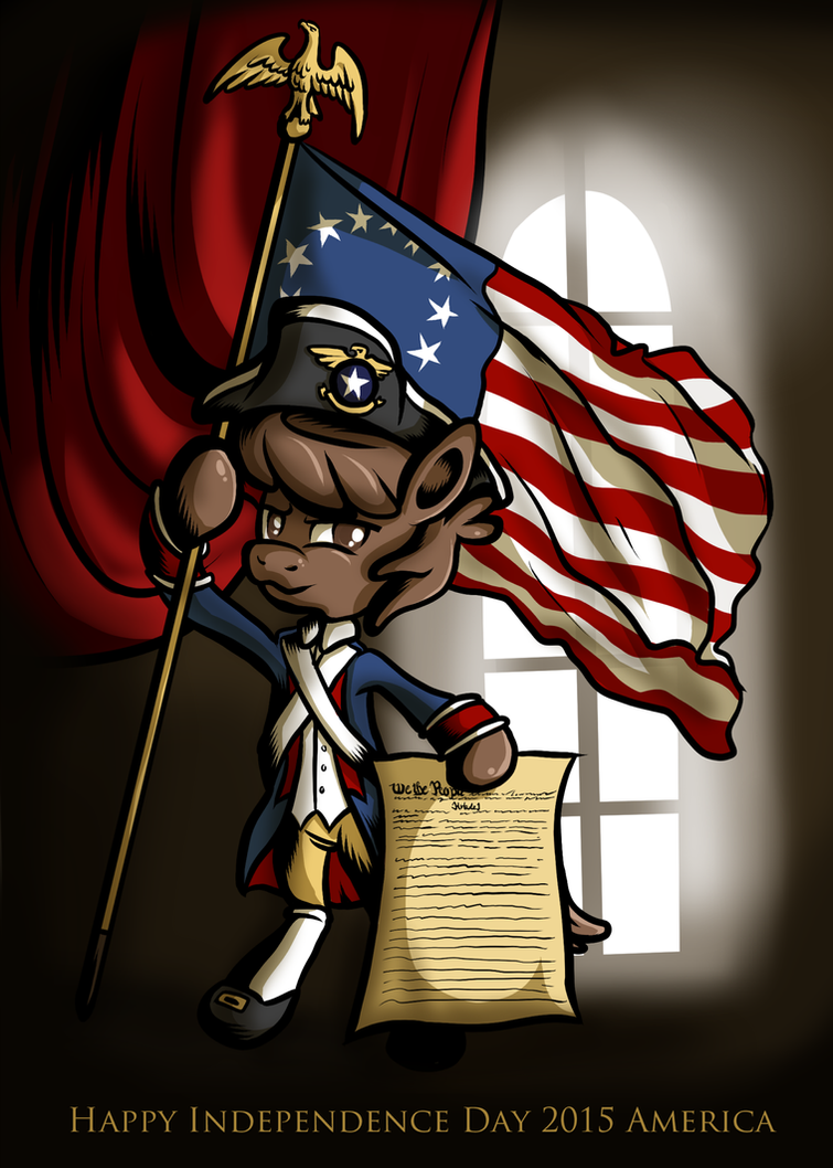 Happy Independence Day 2015 America by SouthParkTaoist