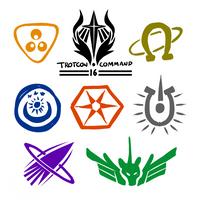 TrotCon Space Badge Concept Art - 2