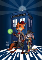 Doctor Zoo in Whotopia by SouthParkTaoist
