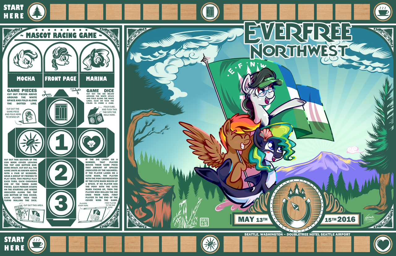 Book Cover Art Contest : Everfree northwest con book cover contest by