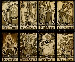 Disney Villain Tarot Major Arcana