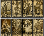 Disney Villain Tarot Major Arcana by SouthParkTaoist