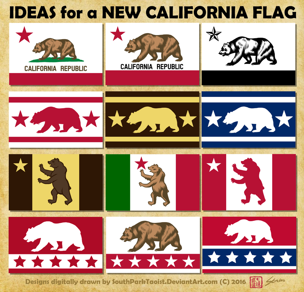 california republic flag wallpaper
