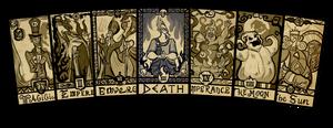 Cards - Disney Villains Major Arcana