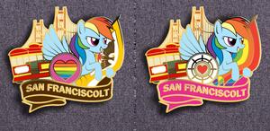 San Franciscolt Pin Mock Up (Vote)