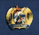 Zootopia Police Pin
