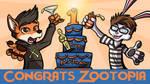 Happy Birthday and Oscar Win Zootopia