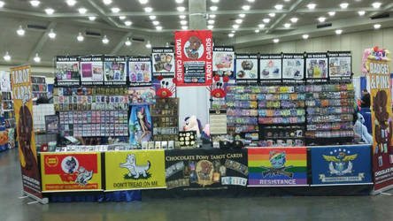 BronyCon 2017 Booth - Front View
