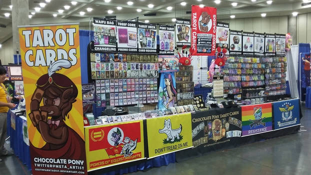 BronyCon 2017 Booth - Left Side View