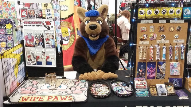 Pine Marten at my BLFC Booth