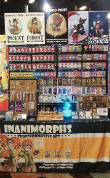 Booth at Biggest Little FurCon 2018