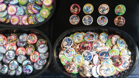 Baskets of Buttons