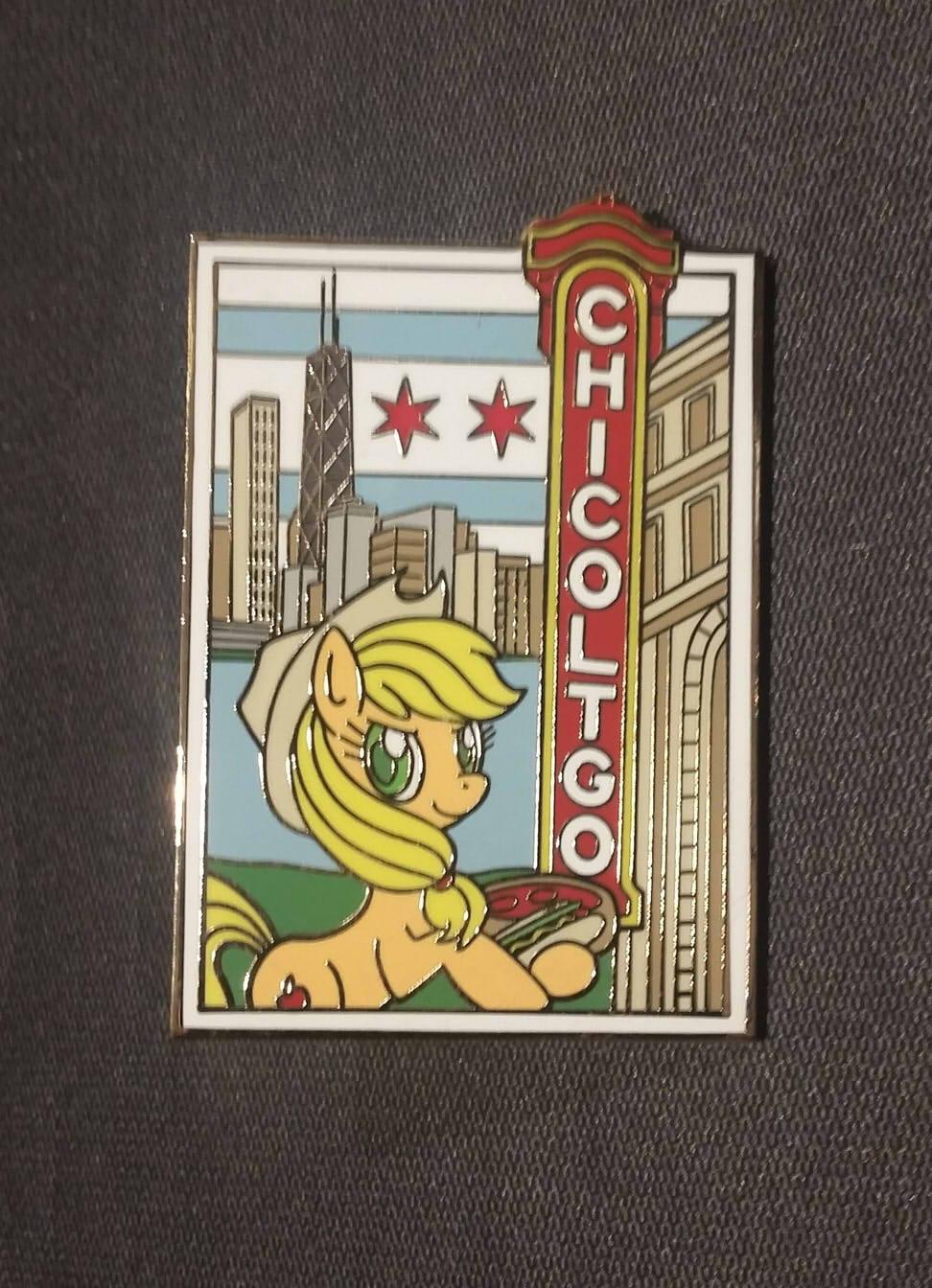 Pony Postcard Pin Series - Chicoltgo by SouthParkTaoist