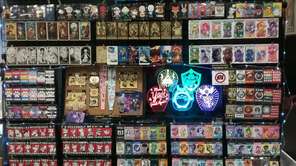Booth at A-kon 2018 by SouthParkTaoist
