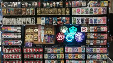Booth at A-kon 2018