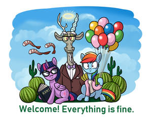 Everything is Fine (Good Place x MLP)