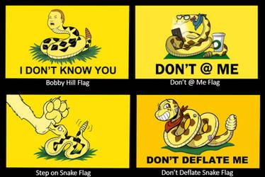Snake Flag Designs by SouthParkTaoist