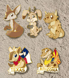 Critters of the Southwest Pin Series by SouthParkTaoist
