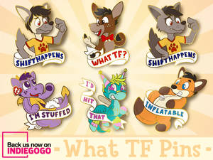 What TF? Transformation Themed Pins