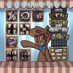 Choco Pony Booth