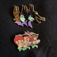 Transformating Disney Pins