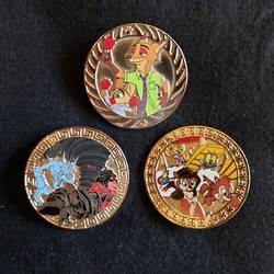 Fantasy Disney Roundel Pins