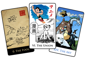 History of Anime - Tarot Cards 1