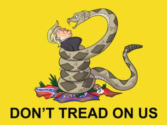 Don't Tread On Us Trump