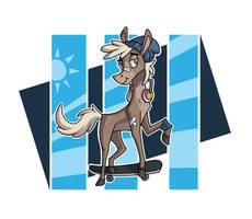 He Was A Skater Horse