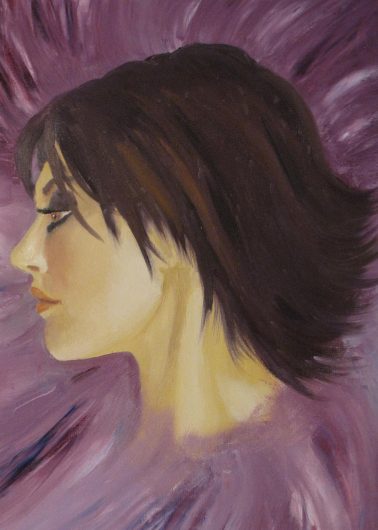 Lucy Painting by Azterion