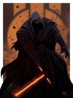Star Wars VII - Kylo Ren by SpeedRain