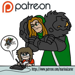 Patreon!! by marinaizarne