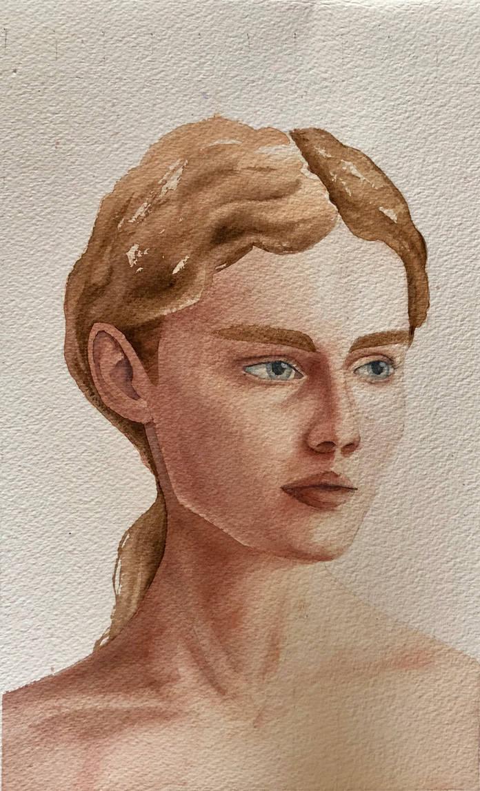 Portrait by aalcalinaa
