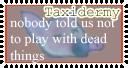 taxidermy stamp3 by Kuwaizair