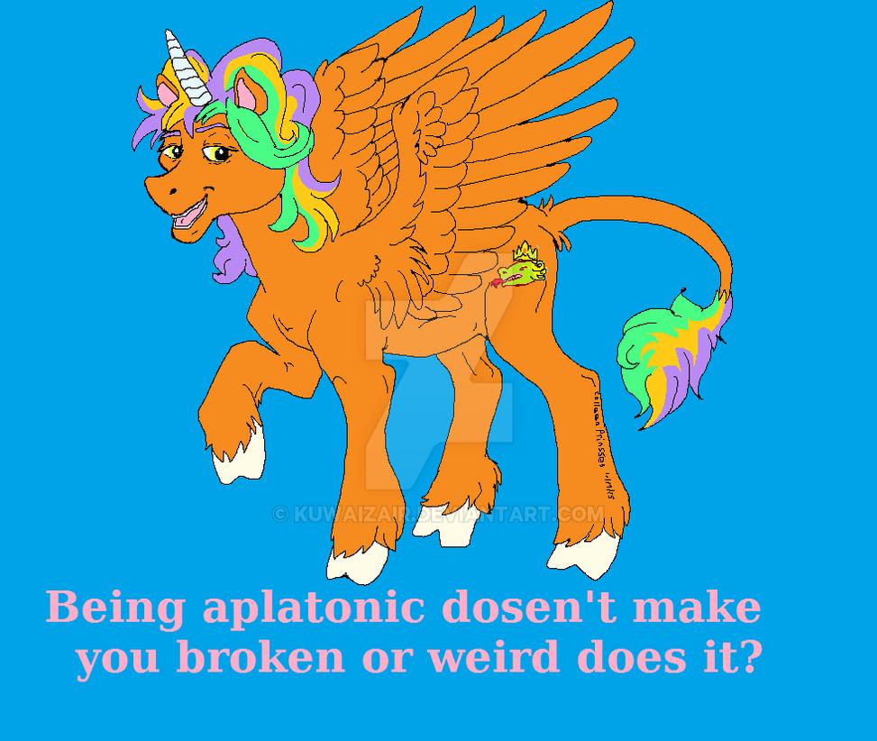 Pony with a PSA by Kuwaizair