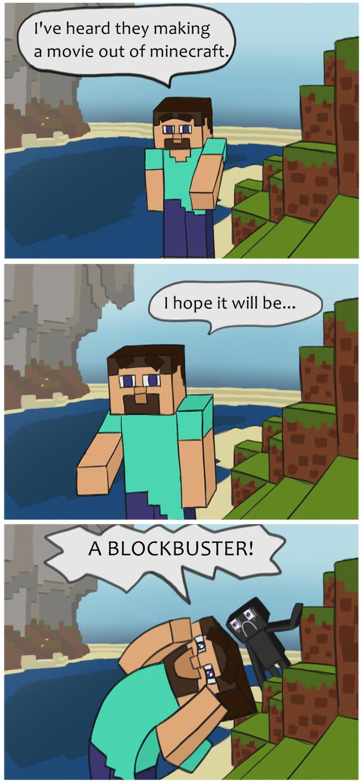 Minecraft Movie by Kligan