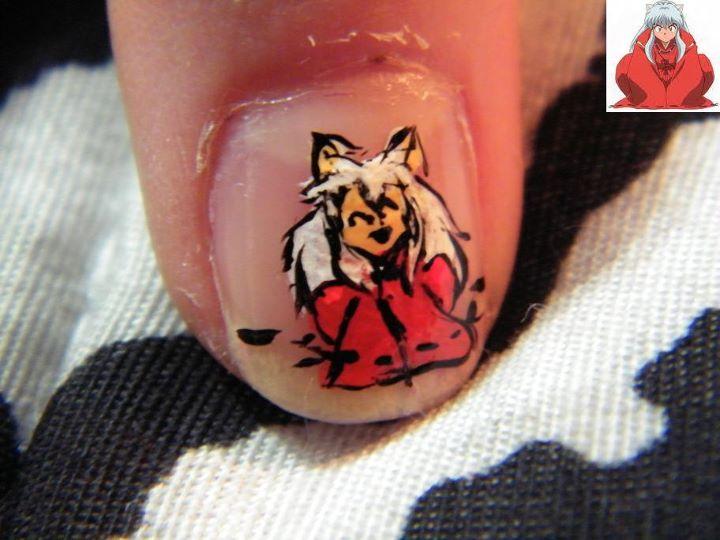 My nails - InuYasha by larifogo on DeviantArt