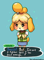 Smash - Isabelle the Fighter? by LostInSweden