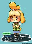 Smash - Isabelle the Fighter?