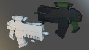 Futuristic Gun