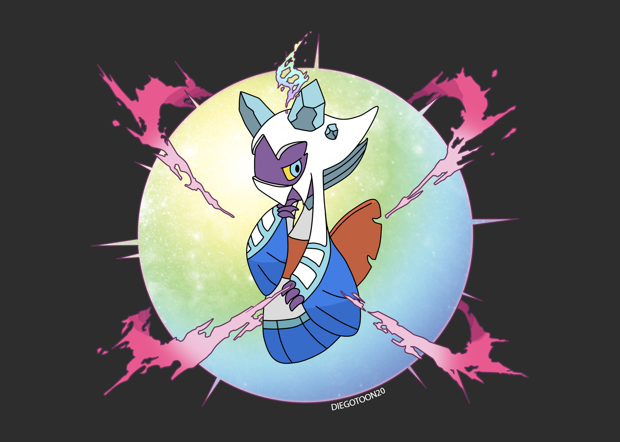Pokemon Stellar Pearl: Mega Froslass by Diegotoon20 on ...