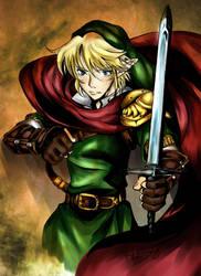 Hero of Hyrule by Kyo-katt