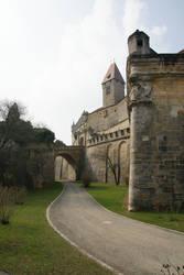 Coburg castle Stock 01 by Malleni-Stock
