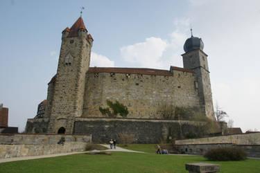 Coburg castle Stock 11 by Malleni-Stock