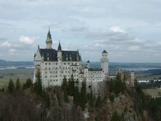 Neuschwanstein Castle Stock 01 by Malleni-Stock