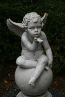 Angel statue Stock 017 by Malleni-Stock