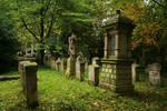 Landau cemetery Stock 03