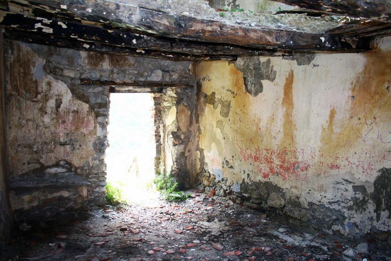 Abandoned village Stock 04