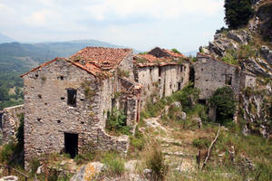 Abandoned village Stock 09 by Malleni-Stock