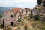 Abandoned village Stock 09